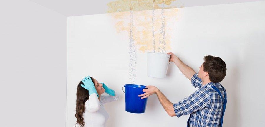 Infiltrazione d'acqua in condominio