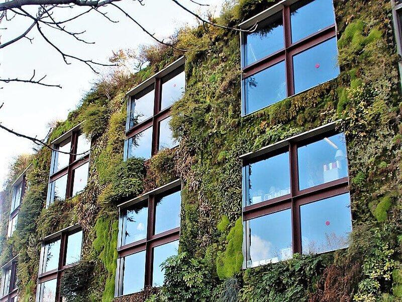 giardini verticali e altre installazioni ecologiche per i condomini